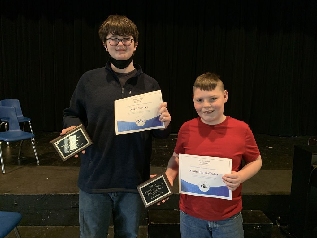 RMS Spelling Bee Winners