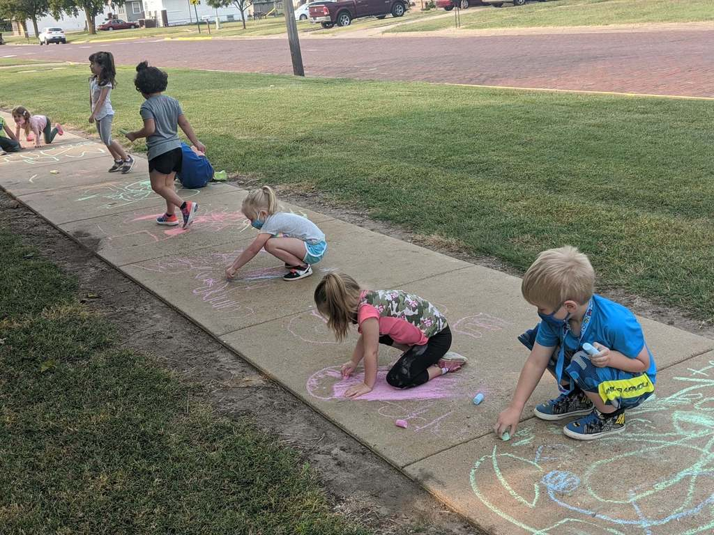 Preschool Sidewalk Chalk