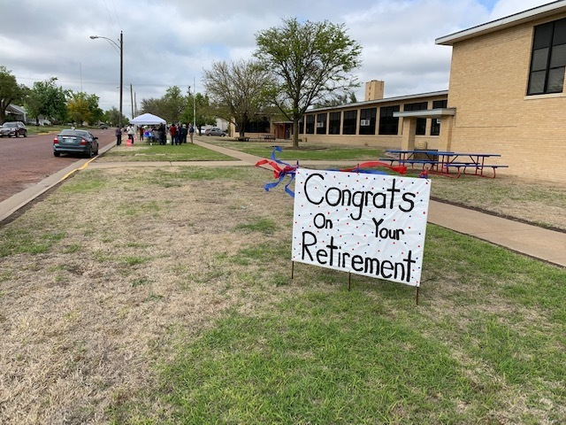 Retirement Reception at Simpson Elementary