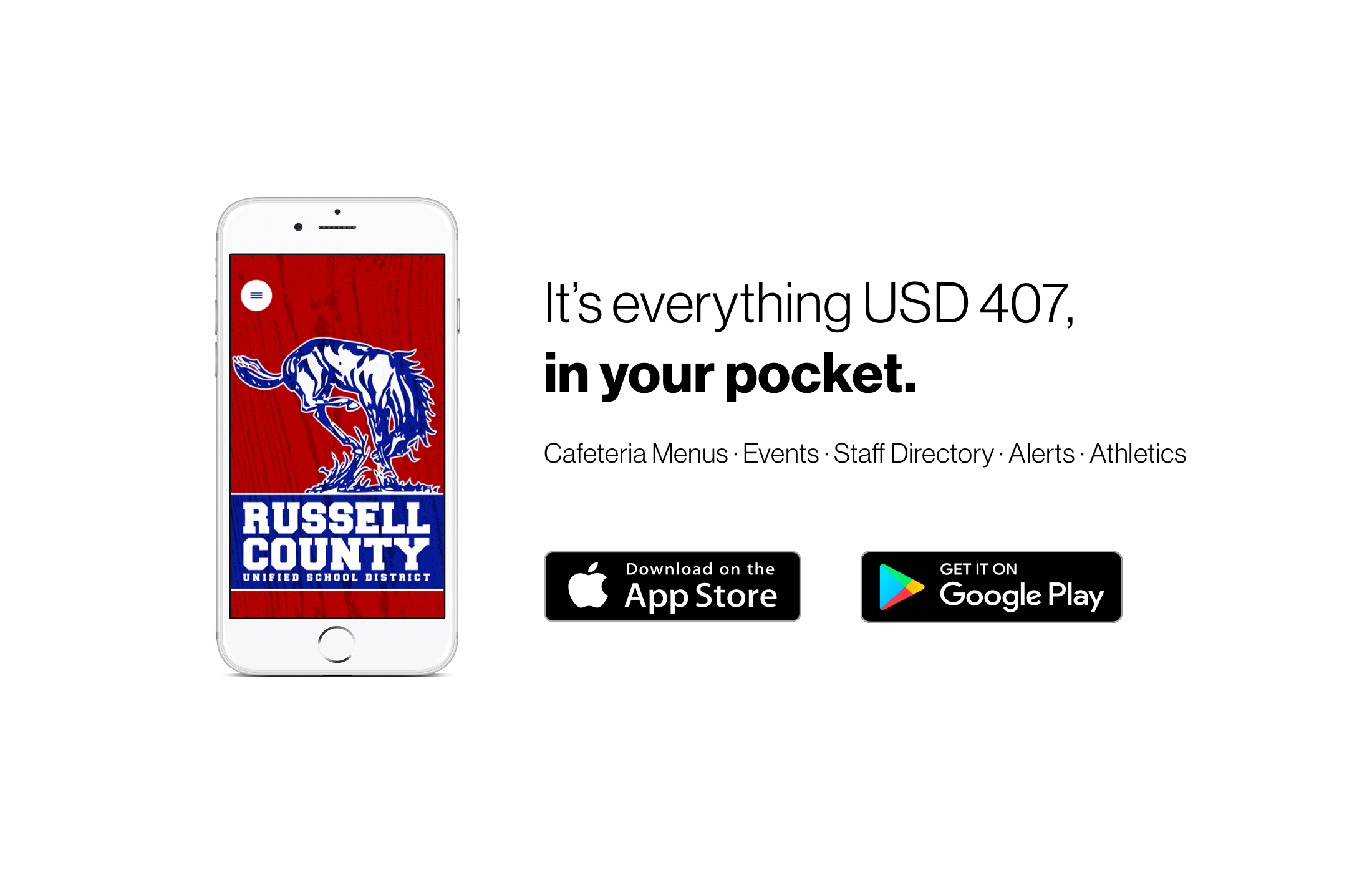 USD 407 App available for Android and iPhone.